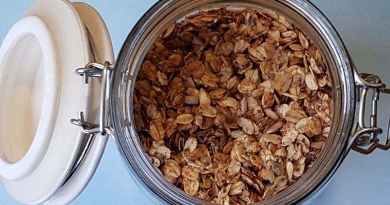 Low-FODMAP Muesli (Crunchy)