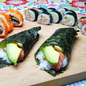 Sushi fodmap and gluten free