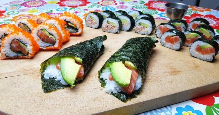 Sushi. Laag-FODMAP en Glutenvrij