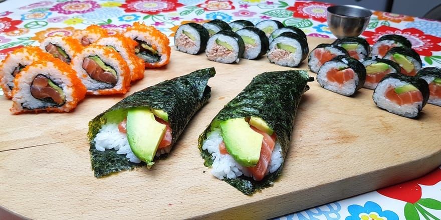 Sushi. Low-FODMAP and Gluten Free