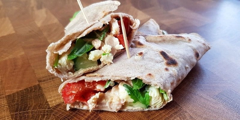 FODMAP Wraps with Chicken