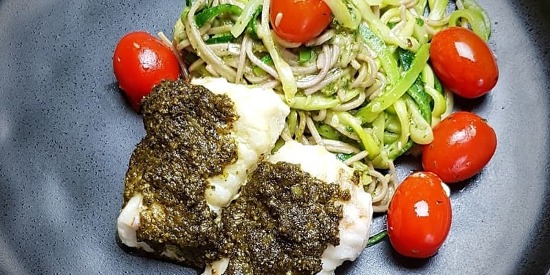 Pasta Pesto (low FODMAP)