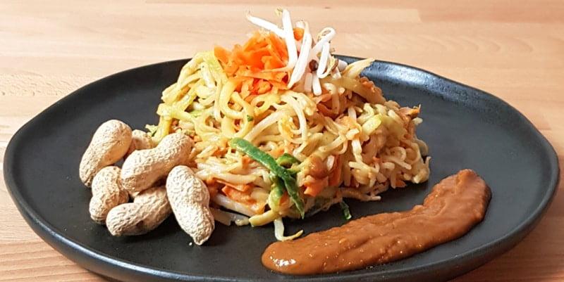 Pad Thai, laag FODMAP en glutenvrij