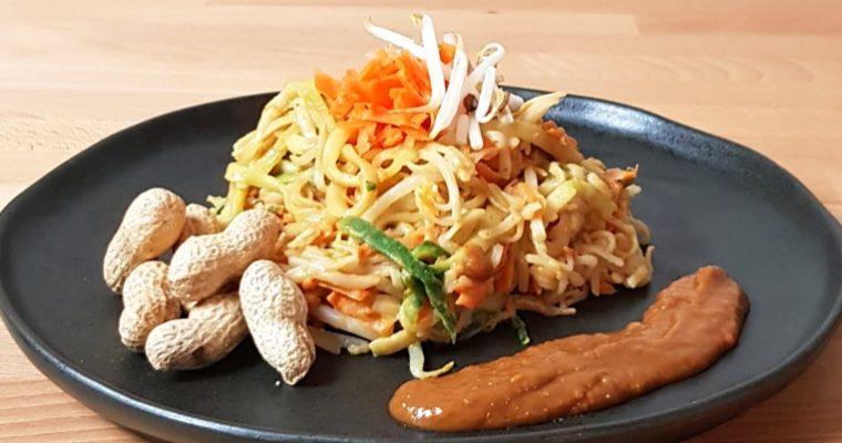 Pad Thai, Low FODMAP and Glutenfree