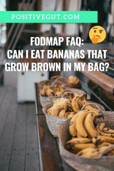 FODMAP Banana bag