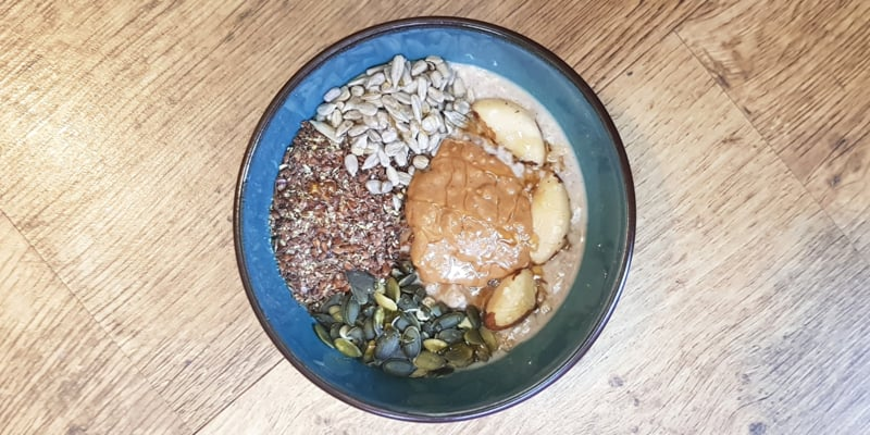 Low FODMAP Oatmeal Breakfast