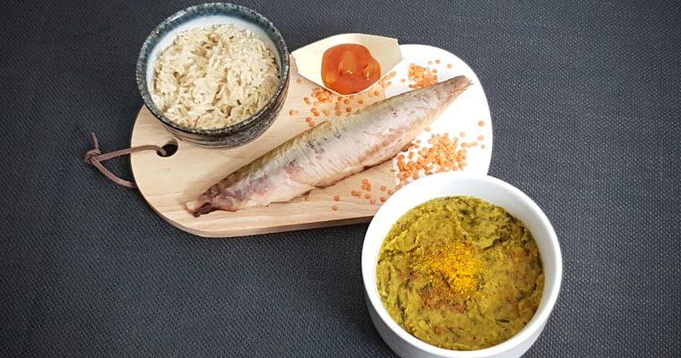 Instant Pot Dal met Makreel