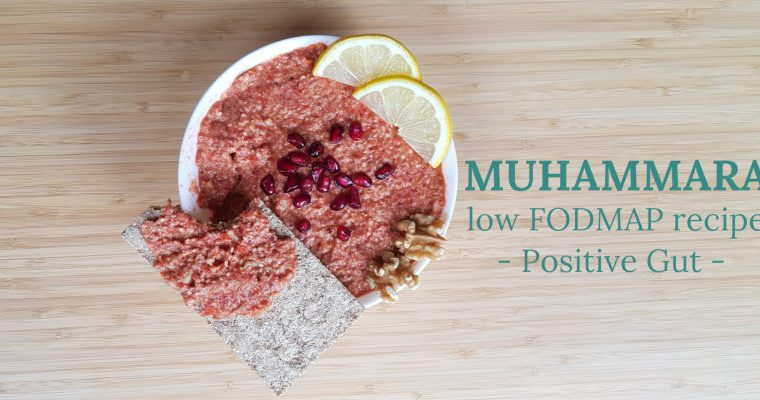 Muhammara, Low FODMAP