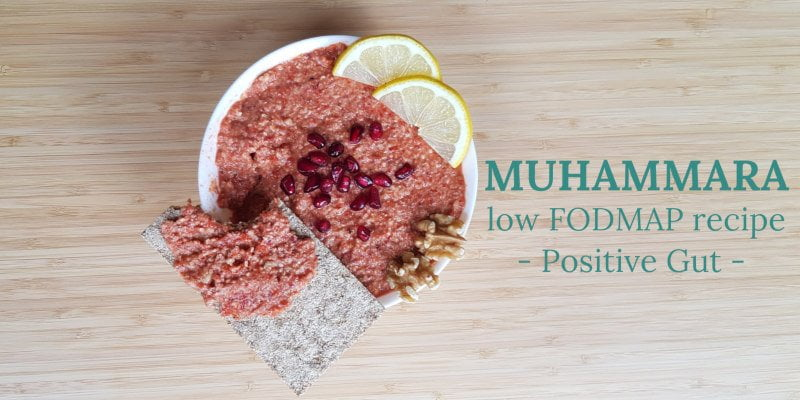 Muhammara, Low FODMAP