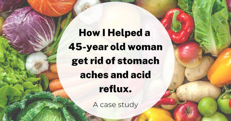 Case Study: 45-jarige vrouw met maagzuur en buikpijn