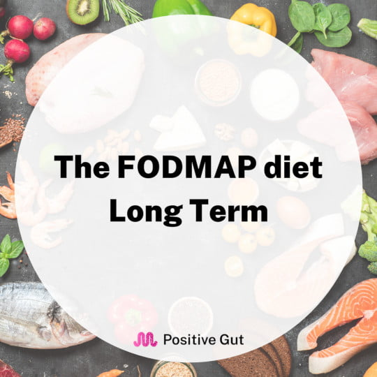 FODMAP dangers long term