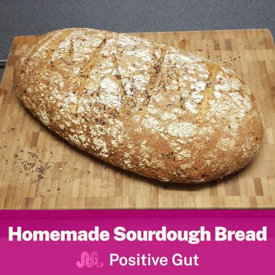 Sourdough Bread Fodmap recipe