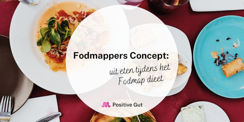 Fodmappers concept uit eten FODMAP