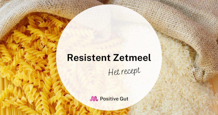 Resistent zetmeel: het recept
